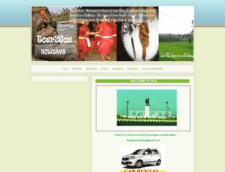 tour2goa.webs.com screenshot