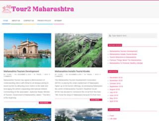 tour2maharashtra.in screenshot
