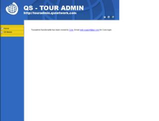 touradmin.qsnetwork.com screenshot