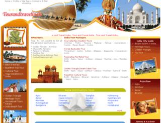 tourandtravelindia.com screenshot