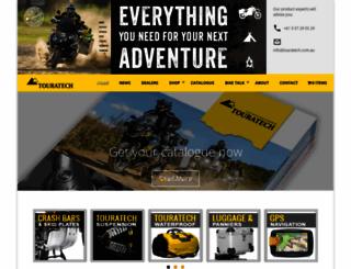 touratech.com.au screenshot