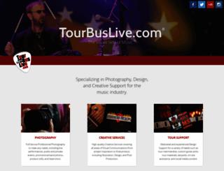 tourbuslive.com screenshot