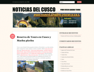 tourcuscoperu.wordpress.com screenshot