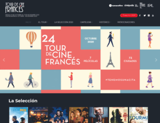 tourdecinefrances.net screenshot