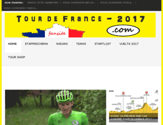 tourdefrance-2016.com screenshot