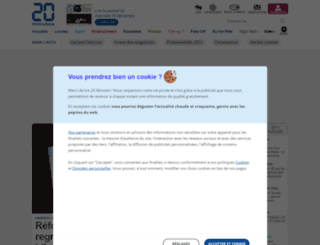 tourdefrance2014.20minutes-blogs.fr screenshot