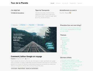 tourdelaplanete.com screenshot