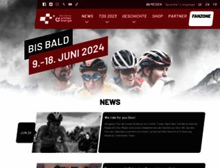 tourdesuisse.ch screenshot