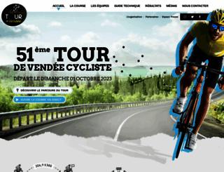 tourdevendee.fr screenshot