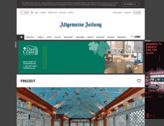 touren.rhein-main-presse.de screenshot