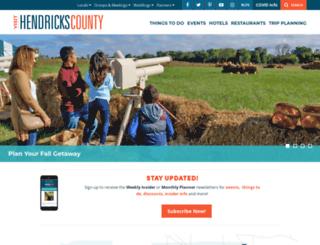 tourhendrickscounty.com screenshot