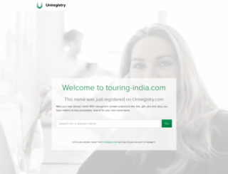 touring-india.com screenshot