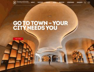 tourism.sa.gov.au screenshot