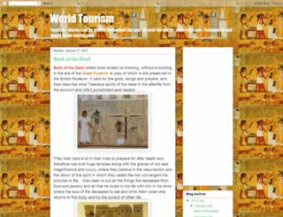 tourism2014.blogspot.com screenshot
