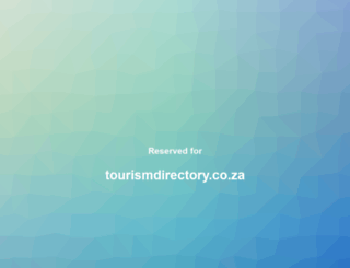 tourismdirectory.co.za screenshot