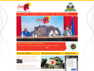 tourisme.gouv.ht screenshot
