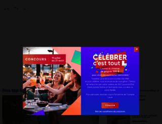 tourismelaval.com screenshot