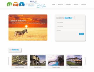 tourisminitiative.org screenshot