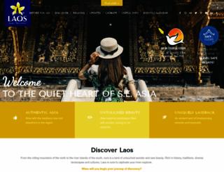tourismlaos.org screenshot