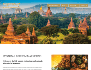 tourismmyanmar.org screenshot