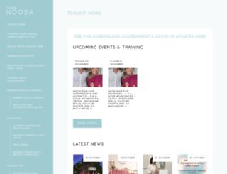tourismnoosa.com.au screenshot