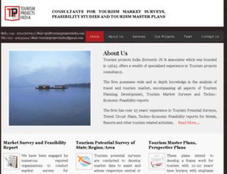tourismprojectsindia.com screenshot
