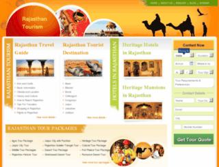 tourismrajasthan.org screenshot