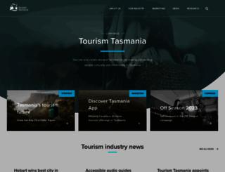 tourismtasmania.com.au screenshot