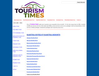 tourismtimes.org screenshot