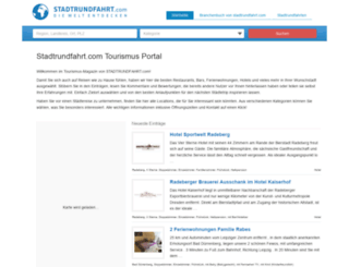 tourismus.stadtrundfahrt.com screenshot