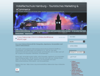 tourismusmanagement-blog.de screenshot