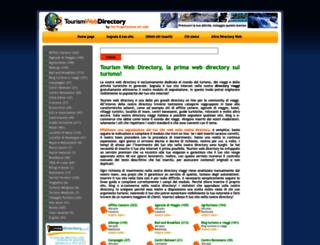 tourismwebdirectory.it screenshot