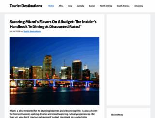 tourist-destinations.net screenshot