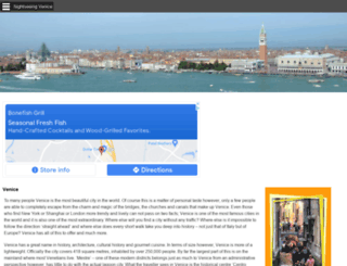 tourist-guide-venice.com screenshot