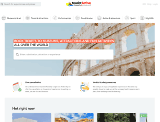 touristactive.com screenshot