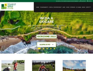 touristgolf.eu screenshot