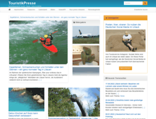 touristikpresse.net screenshot
