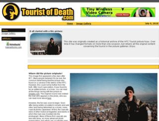 touristofdeath.com screenshot