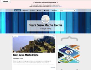 tourmachupicchu.obolog.com screenshot