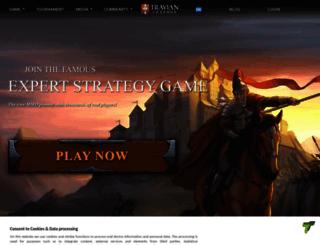 tournament2013.travian.com screenshot