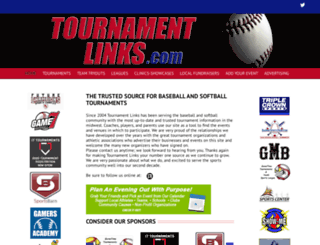 tournamentlinks.com screenshot