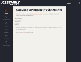tournaments.peliliiga.fi screenshot