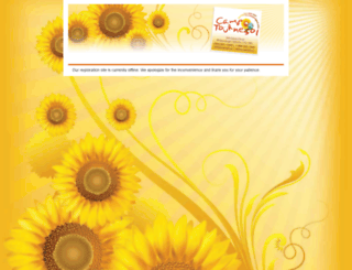 tournesol.campbrainregistration.com screenshot