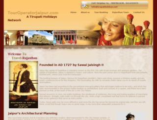 touroperatorjaipur.com screenshot