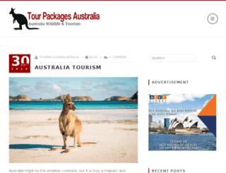 tourpackagesaustralia.com screenshot