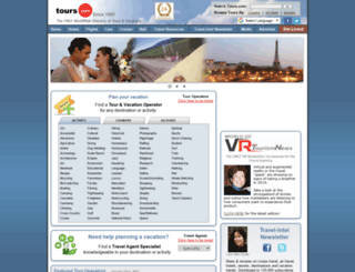 tours.com screenshot