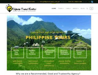tours.filipinotravel.com.ph screenshot