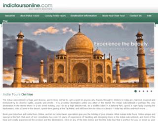 tours.indiatoursonline.com screenshot