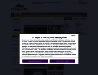 tours.onvasortir.com screenshot