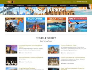 tours4turkey.com screenshot